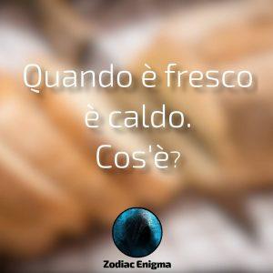 Read more about the article Quando è fresco è caldo. Cos'è?