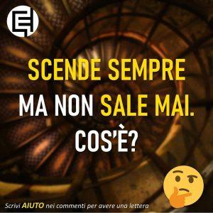 Read more about the article Scende sempre…